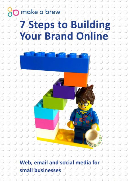 7 Steps to building your brand online cover